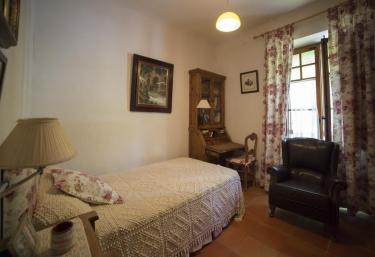 Dormitorio individual del alojamiento