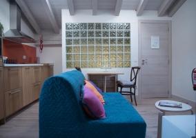 Amalur cocina y sala de estar