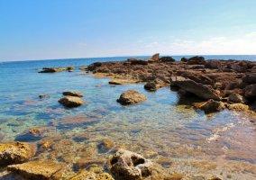Zona de playas en el entorno