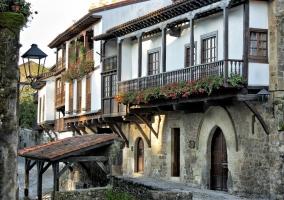 Zona del patrimonio de Santillana