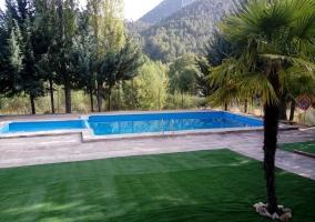 Vistas de la zona de la piscina
