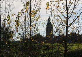 Zona de vistas de la iglesia
