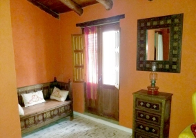 Complete and decorated rooms
