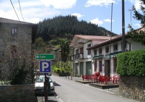 Central area of Zeberio