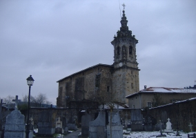 Area of the church