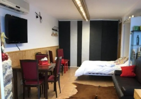 Accommodation with rooms