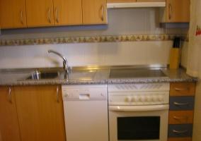 Cocina de la casa completa
