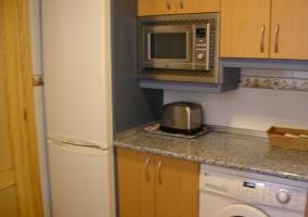 Cocina de la casa con todo el equipamiento
