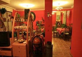 Salón comunitario zona de comedor