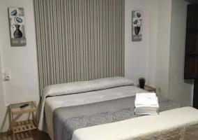 Dormitorio y zona de estar