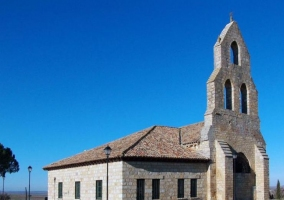 Zona de la iglesia cercana