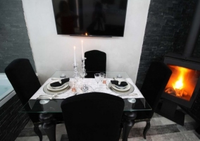 sala de estar-comedor