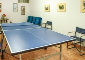 Leisure room with games