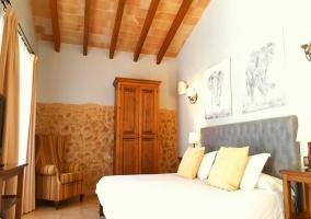 habitación terraza dormitorio