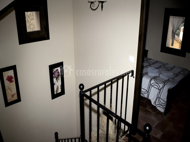 Dormitorio desde las escaleras