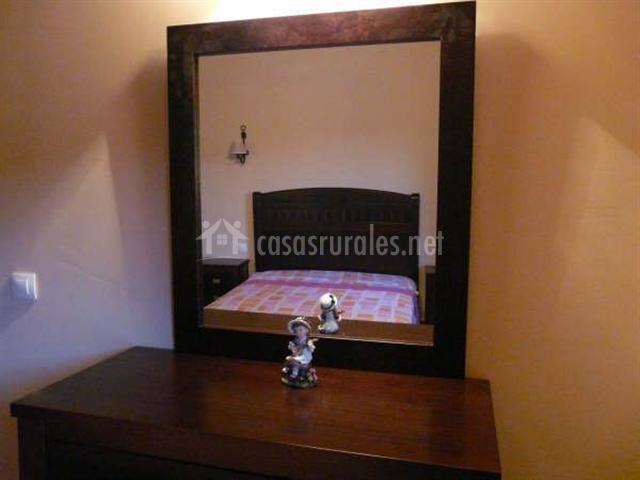 Espejo del dormitorio