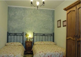 Dormitorio doble individual