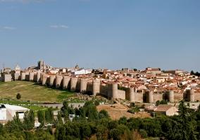 Vista panorámica de Ávila