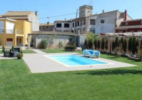 Casa con piscina ideal para verano