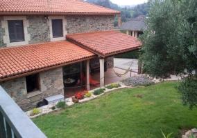 Casa construcción piedra
