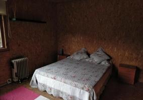 Dormitorio cama doble y 1 individual