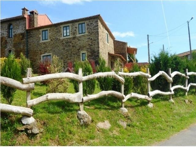 Casa o castelo en andeade a coru a for Casa rural casa jardin