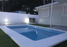 Alojamiento con piscina privada