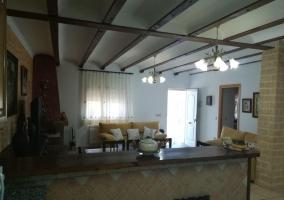 Amplia sala de estar para el descanso