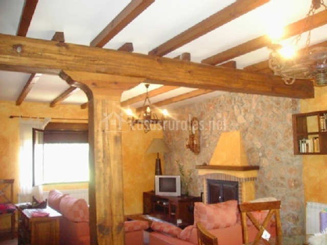 Casa rural la almenara en riopar albacete - Casa rural con chimenea en la habitacion ...