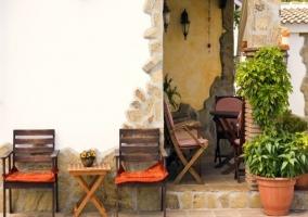 Mobiliario de jardín por todo el exterior