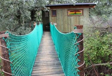 Cabaña Natura- Dormir en los Árboles - Villasbuenas De Gata, Cáceres
