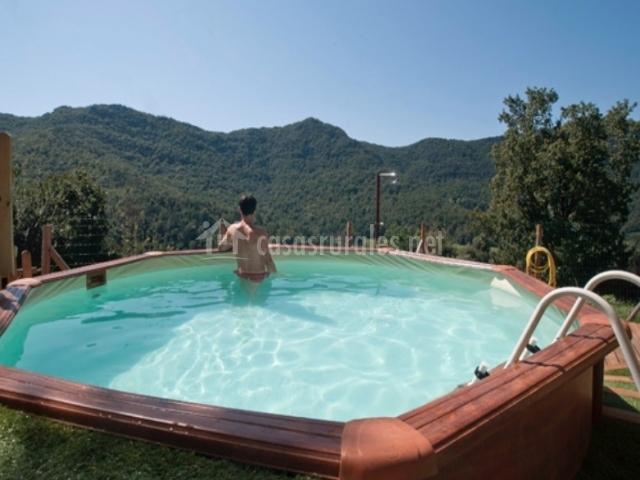 Mas la costa casas rurales en santa pau girona for Casa rural girona piscina