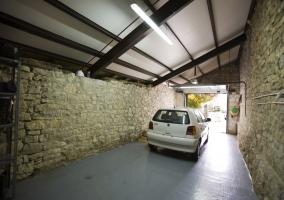 Garaje cubierto, para 2 coches