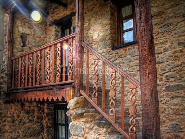Encantadora escalera