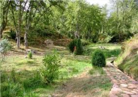 Entorno natural de la casa rural riojana