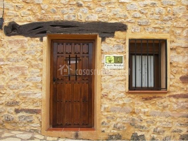 Casa rural la riba en riba de saelices guadalajara - Casas rurales madera ...