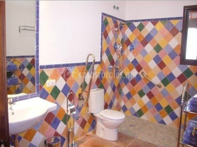 Casa rural la sierrezuela casas rurales en posadas c rdoba for Agarradores de ducha