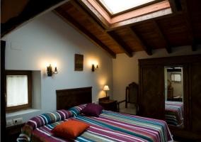 Habitación doble con camas