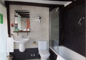 Baño habitación frontal