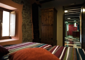Habitación dos camas en planta baja