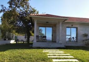 Casa Nueva Playa Areabrava Hío