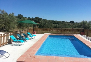 Casas rurales con piscina en illora for Piscina loja granada
