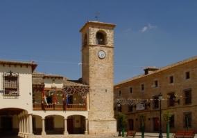 La plaza del pueblo