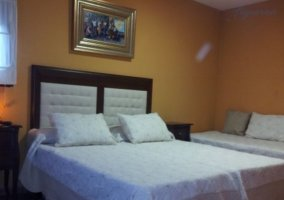 Dormitorio amplio con supletoria