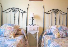 Amplias camas de matrimonio