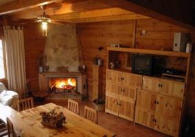Sala de estar al completo
