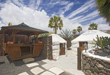 Eco Finca de Arrieta- Eco Twin Yurt - Tabayesco, Lanzarote