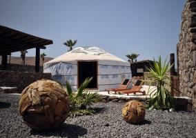 Eco Finca de Arrieta- Eco Luxury Yurt Suite