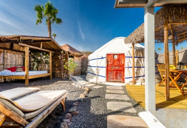 Eco Finca de Arrieta- Eco Palm Yurt - Tabayesco, Lanzarote