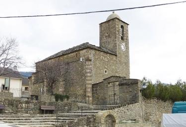 Zona de la iglesia del pueblo